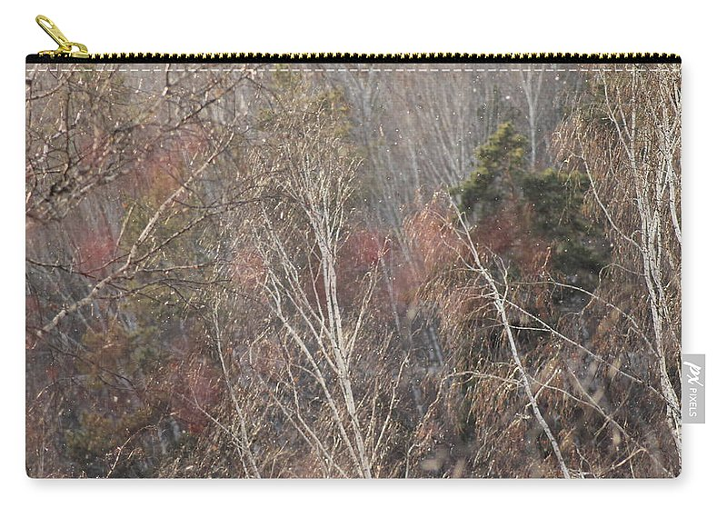 Wind Carry-all Pouch featuring the photograph Wind by Ekaterina Torganskaia