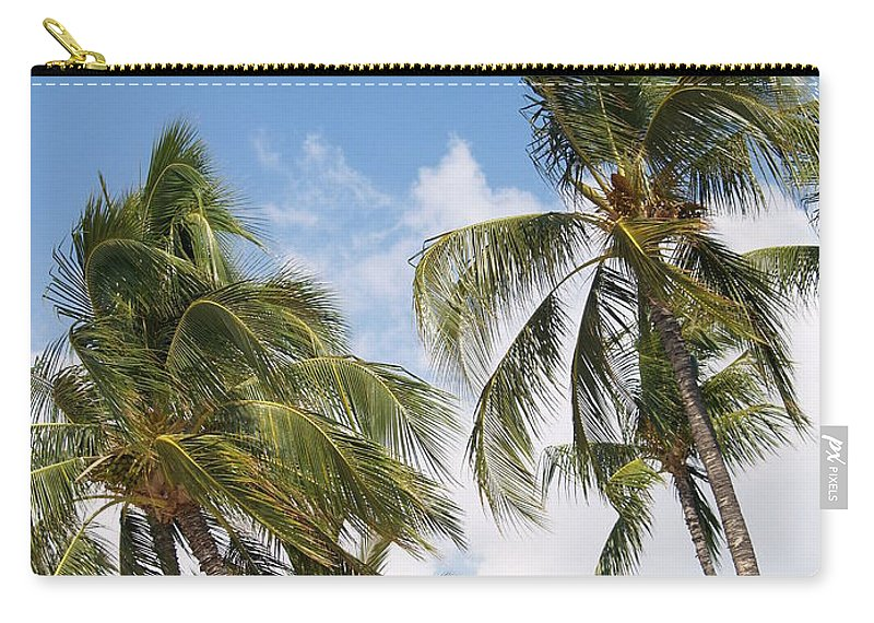 Scenic Carry-all Pouch featuring the photograph Wind Though The Trees by Athala Carole Bruckner