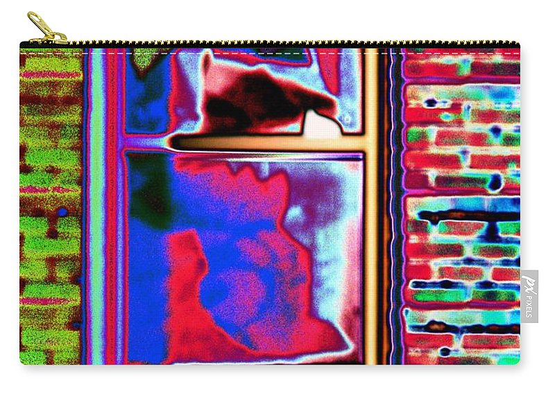 Window Carry-all Pouch featuring the digital art Window 1 by Tim Allen