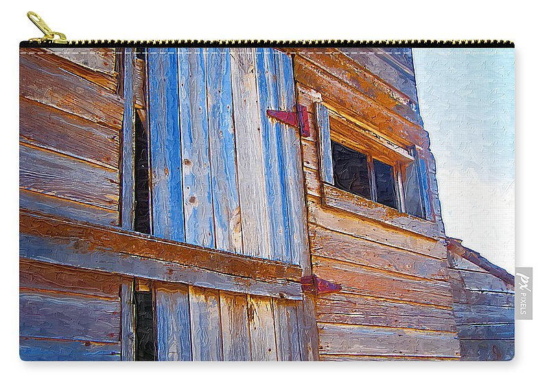 Window Carry-all Pouch featuring the photograph Window 3 by Susan Kinney
