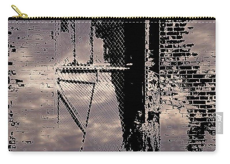 Window Carry-all Pouch featuring the photograph Window 3 by Tim Allen
