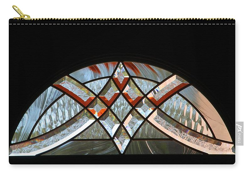 Window Carry-all Pouch featuring the photograph Window Arch by Kathryn Meyer