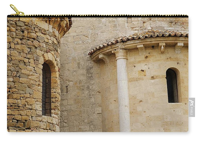 Italy Carry-all Pouch featuring the photograph Window Due - Italy by Jim Benest