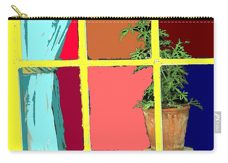 Window Carry-all Pouch featuring the photograph Window by Ian MacDonald