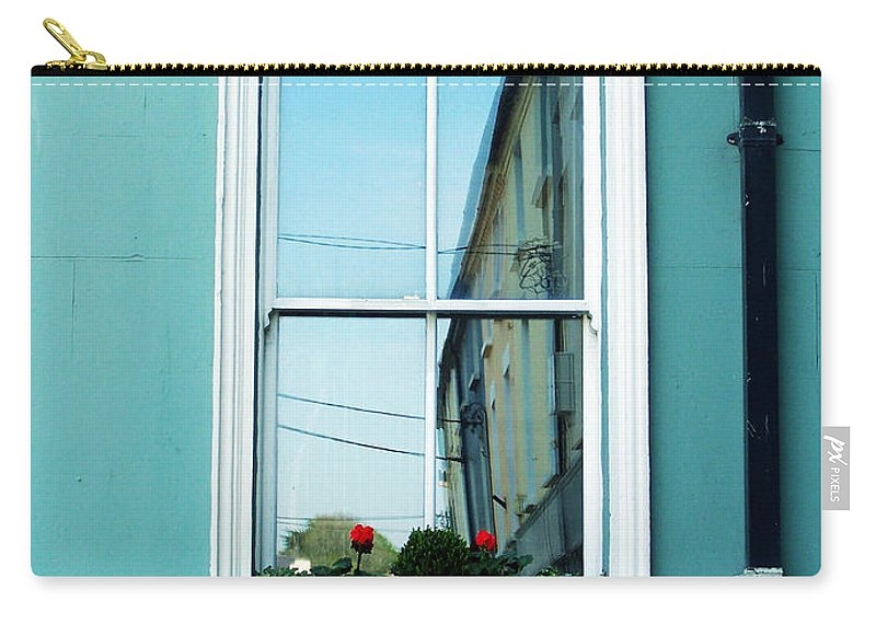 Irish Carry-all Pouch featuring the photograph Window In Ennistymon Ireland by Teresa Mucha