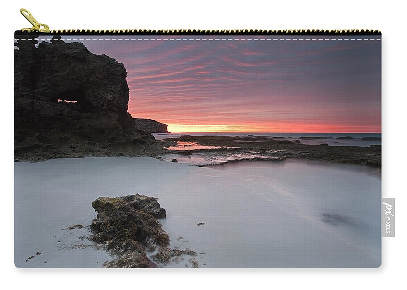 Sunrise Carry-all Pouch featuring the photograph Window On Dawn by Mike Dawson