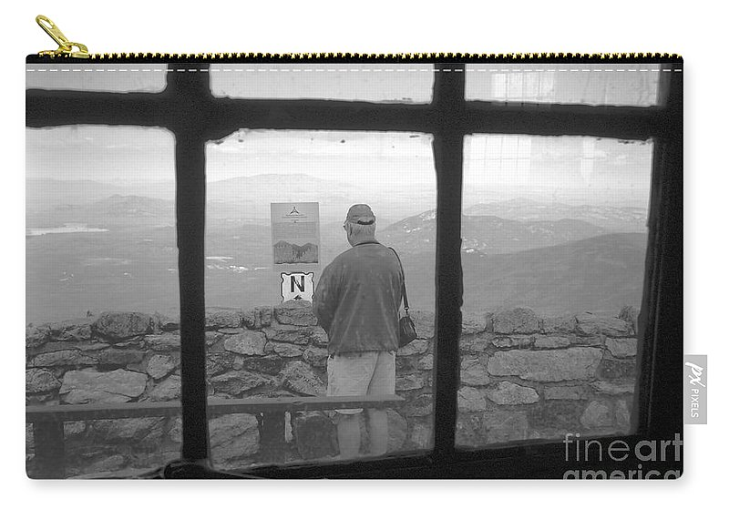 Windows Carry-all Pouch featuring the photograph Window On White Mountain by David Lee Thompson