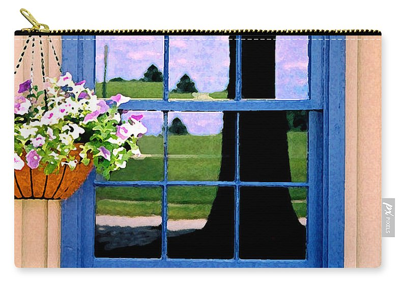 Still Life Carry-all Pouch featuring the photograph Window by Steve Karol