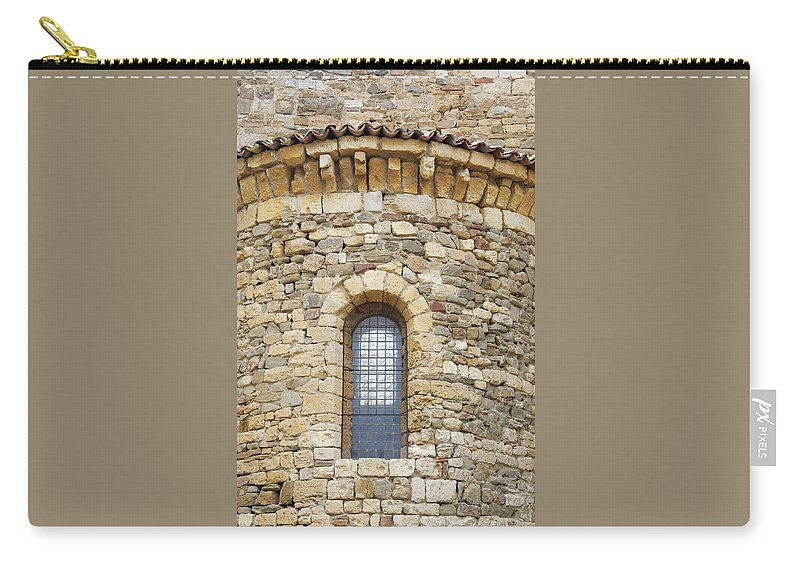 Europe Carry-all Pouch featuring the photograph Window Uno - Italy by Jim Benest