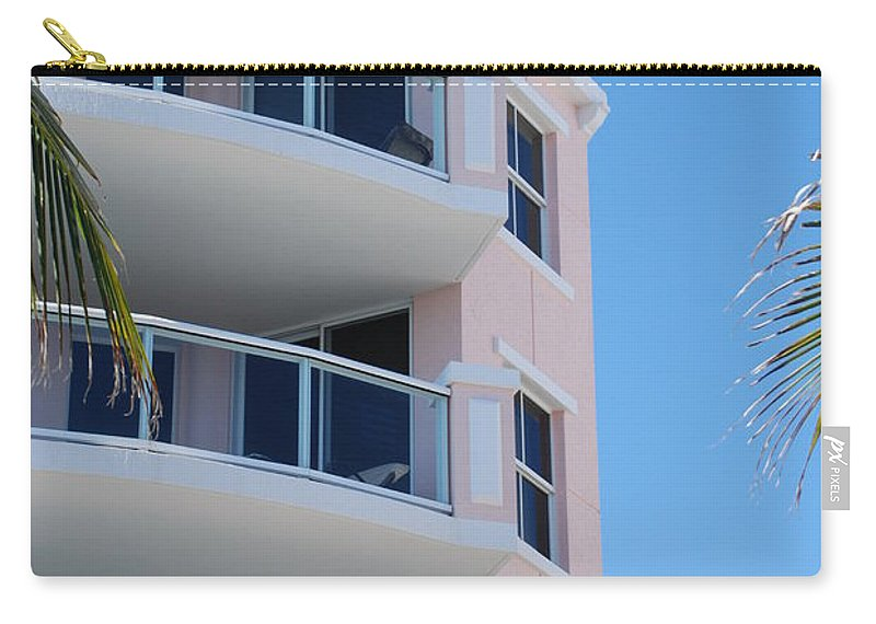 Architecture Carry-all Pouch featuring the photograph Windows 10 by Rob Hans