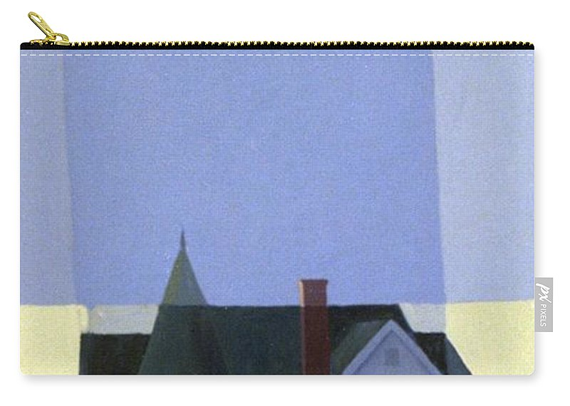 Victorian House Carry-all Pouch featuring the painting Windows by Donald Maier