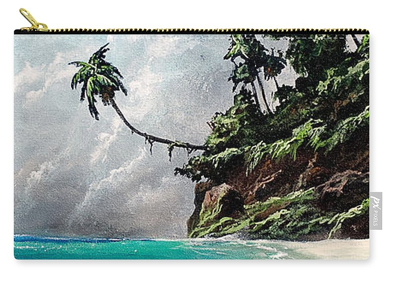 Seascape Carry-all Pouch featuring the painting Winds Of Change by Marco Antonio Aguilar