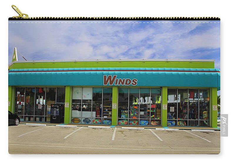 Winds Carry-all Pouch featuring the photograph Winds Of Ft Myers II by Michiale Schneider
