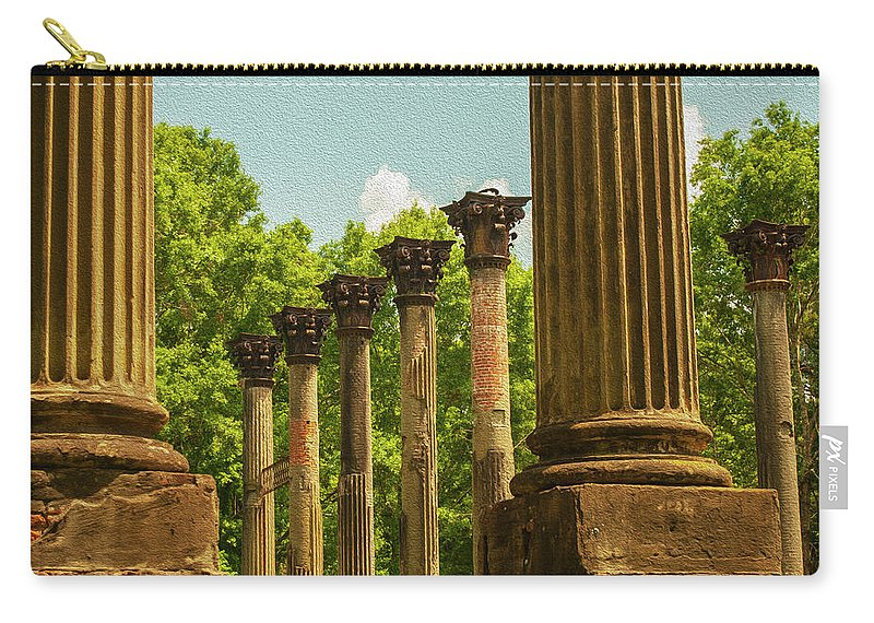 Windsor Ruins Carry-all Pouch featuring the photograph Windsor Ruins by Carl Rich