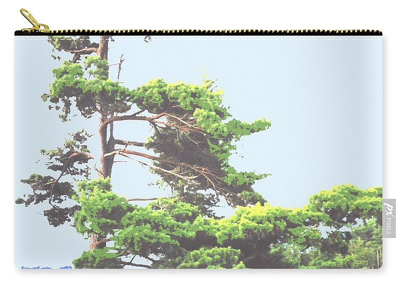 Pine Carry-all Pouch featuring the photograph Windswept by Ian MacDonald