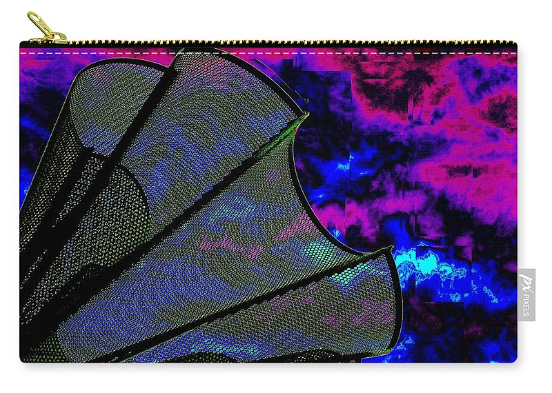 Wind Carry-all Pouch featuring the photograph Windy 2 by Tim Allen