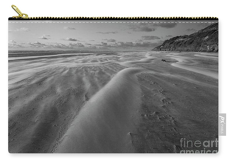 Windy Carry-all Pouch featuring the photograph Windy Day by Masako Metz