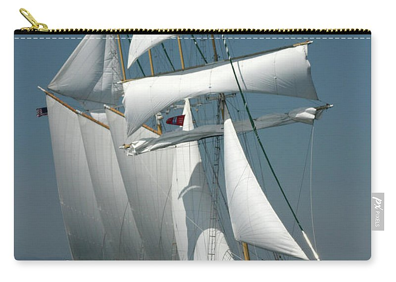 Photography Carry-all Pouch featuring the photograph Windy II by Frederic A Reinecke
