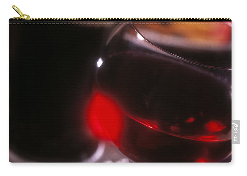 Wine Carry-all Pouch featuring the photograph Wine by Daniel Troy