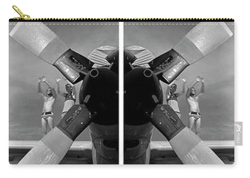 Photography Carry-all Pouch featuring the photograph Wing Walkers by Frederic A Reinecke