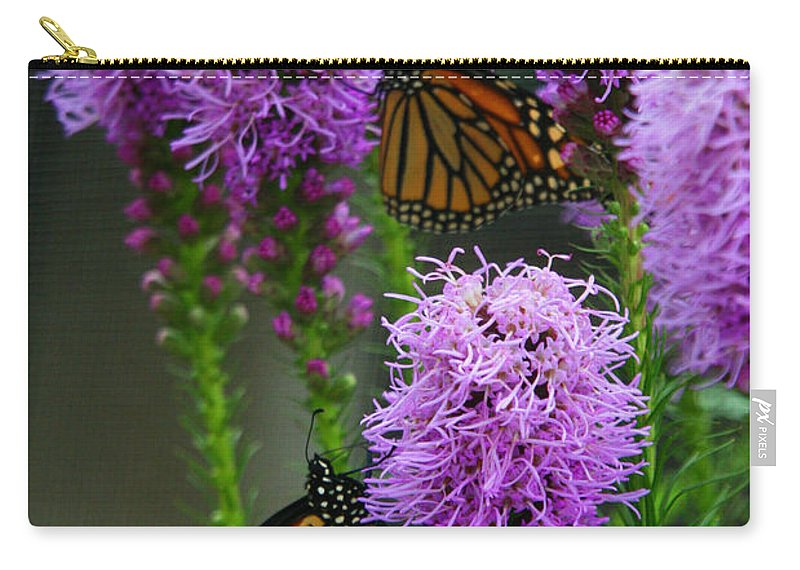 Nature Carry-all Pouch featuring the photograph Winged Beauties by Crystal Nederman