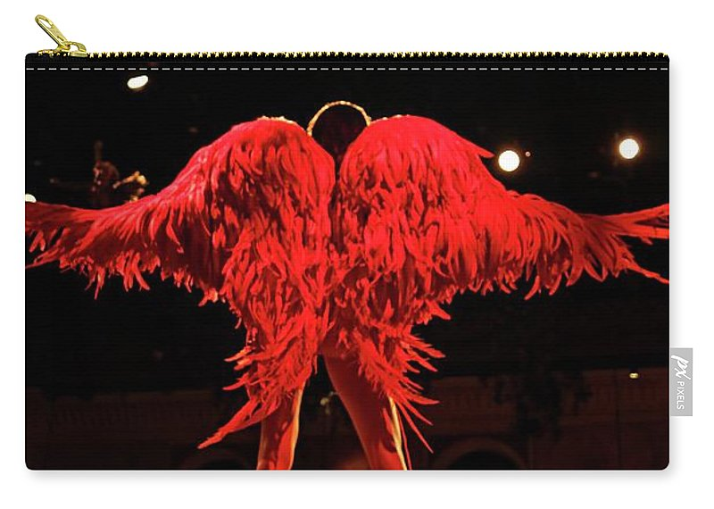 Fashion Carry-all Pouch featuring the photograph Wings Of An Angel by Nick Difi