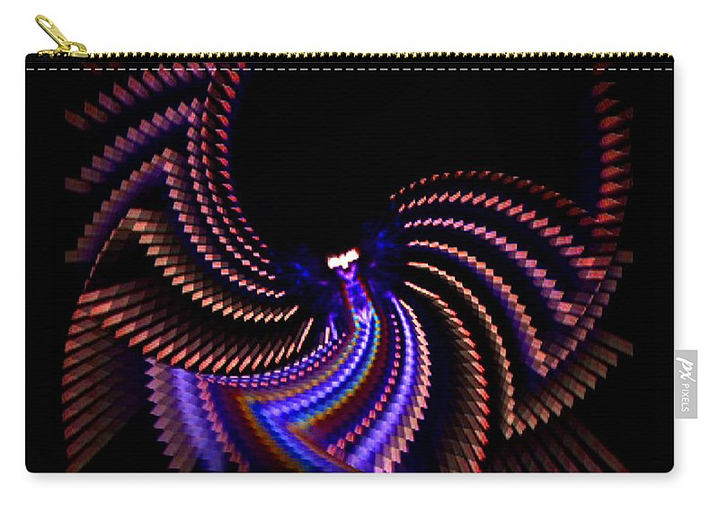 Chaos Carry-all Pouch featuring the photograph Wings Of Light by Charles Stuart