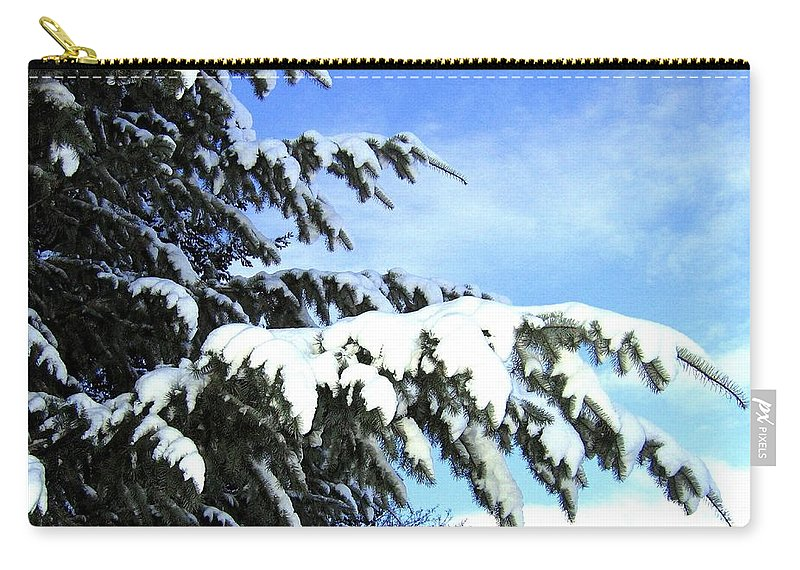 Winter Carry-all Pouch featuring the photograph Winter Boughs by Will Borden