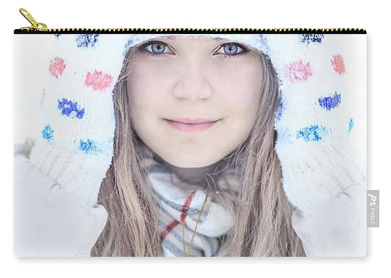 Kremsdorf Carry-all Pouch featuring the photograph Winter Dreams by Evelina Kremsdorf