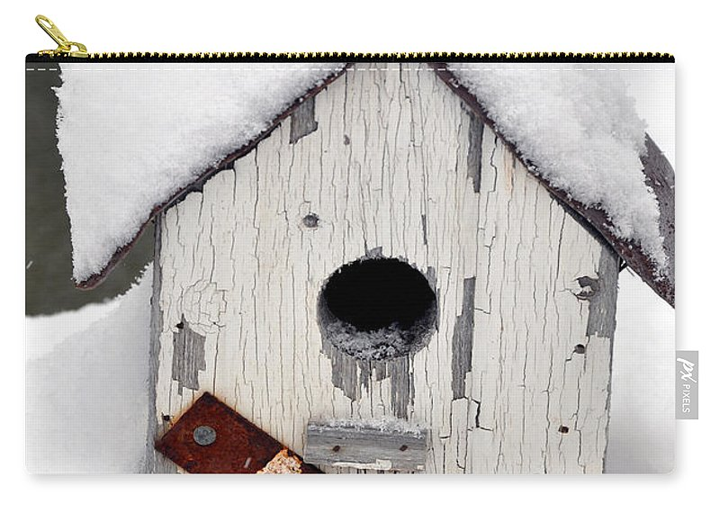 Winter Carry-all Pouch featuring the photograph Winter Home by Brittany Horton