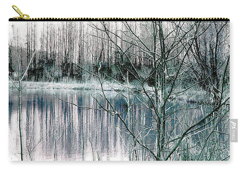 Landscape.winter Carry-all Pouch featuring the photograph Winter by Linda Sannuti