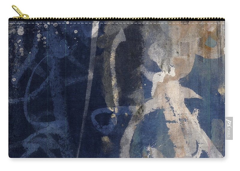 Winter Carry-all Pouch featuring the photograph Winter Nights Series Three Of Six by Carol Leigh