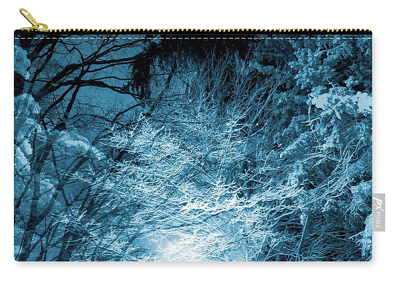 Winter Carry-all Pouch featuring the photograph Winter Solstice by Abstract Angel Artist Stephen K