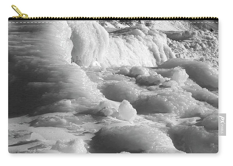 Photography Carry-all Pouch featuring the photograph Winter Texture by Frederic A Reinecke