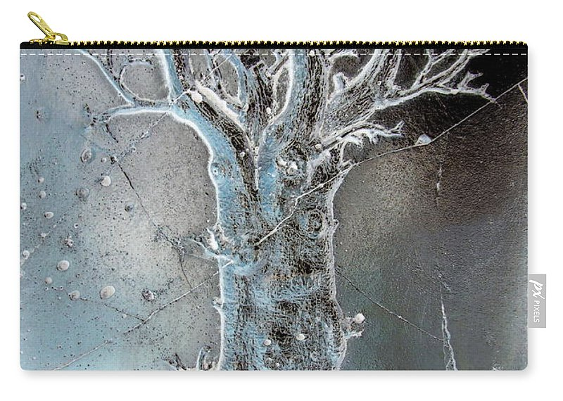 Tree Carry-all Pouch featuring the photograph Winter Tree by Randall Weidner