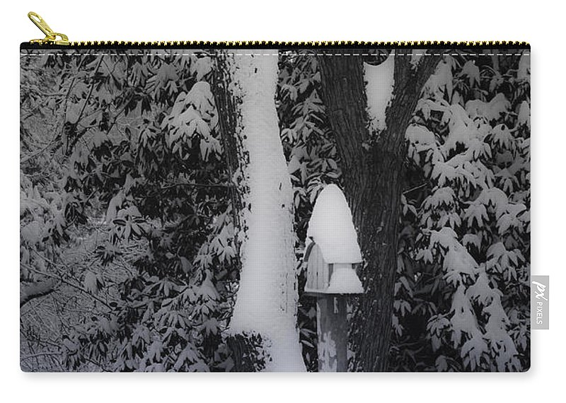 Winter Carry-all Pouch featuring the photograph Winter Wonderland by Teresa Mucha