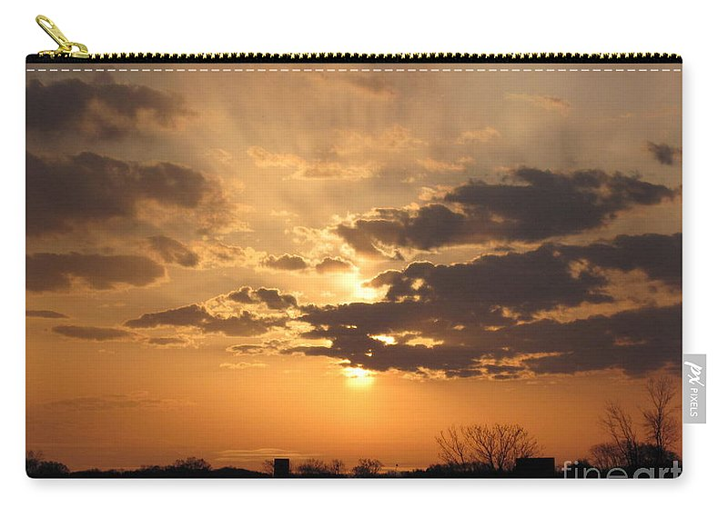 Winter Carry-all Pouch featuring the photograph Winters Dawn by Tommy Anderson