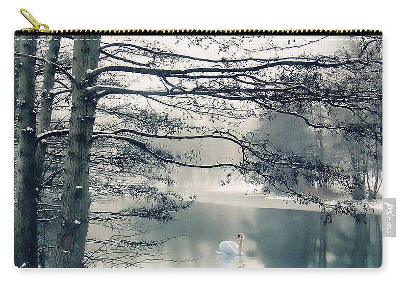 Winter Carry-all Pouch featuring the photograph Winter's Reach II by Jessica Jenney