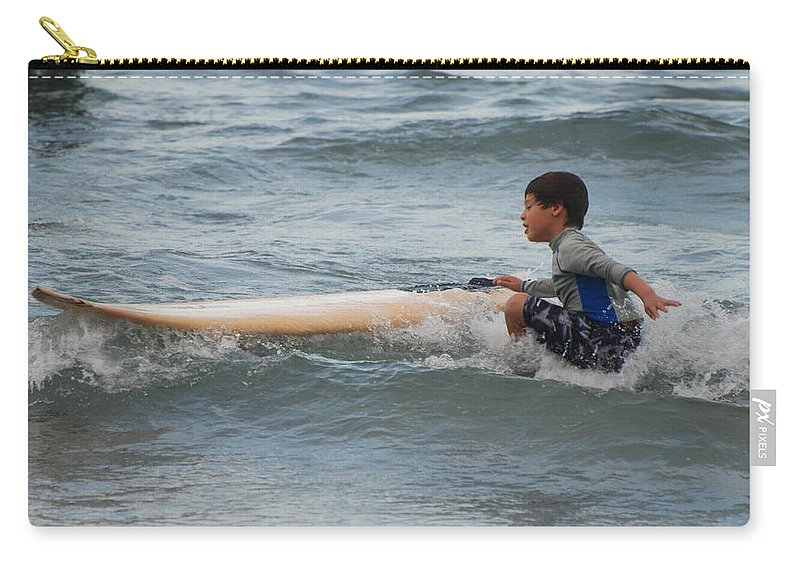 Beach Carry-all Pouch featuring the photograph Wipe Out by Rob Hans