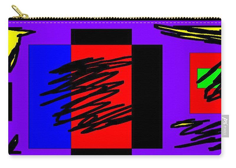 Digital Carry-all Pouch featuring the digital art Wish - 329 by Mirfarhad Moghimi