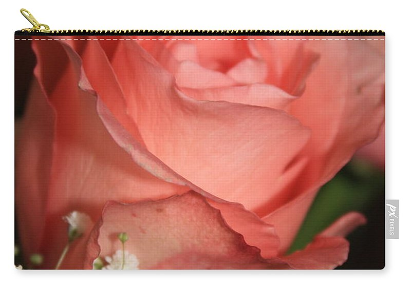 Card Carry-all Pouch featuring the photograph Wishing You Happiness Card by Carol Groenen