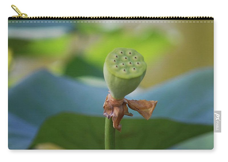 Carry-all Pouch featuring the photograph Without Protection Number One by Heather Kirk