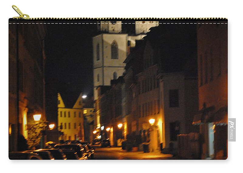 Wittenberg Carry-all Pouch featuring the photograph Wittenberg Night by Jost Houk
