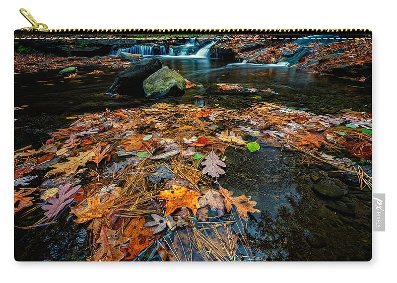 Creek Carry-all Pouch featuring the photograph Wolf Creek by Rick Berk