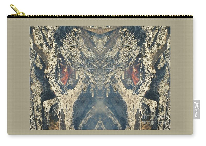 Fire Carry-all Pouch featuring the photograph Wolf Spider by Fran Staley