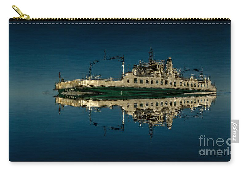 Blue Carry-all Pouch featuring the photograph Wolfe Islander IIi by Roger Monahan