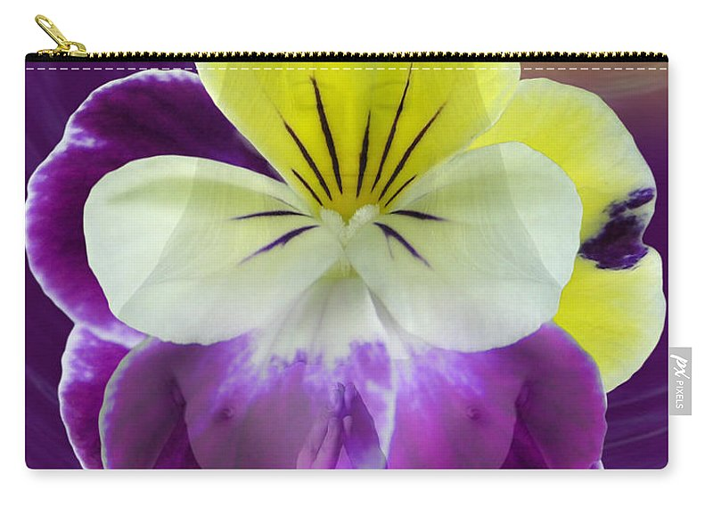 Fleurotica Art Carry-all Pouch featuring the digital art Wonder by Torie Tiffany