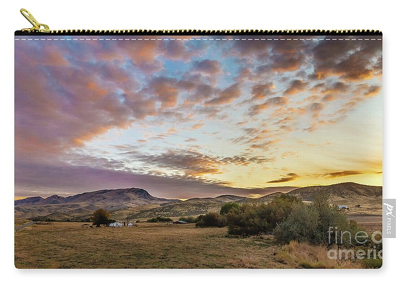 Gem County Carry-all Pouch featuring the photograph Wonderful Morning by Robert Bales