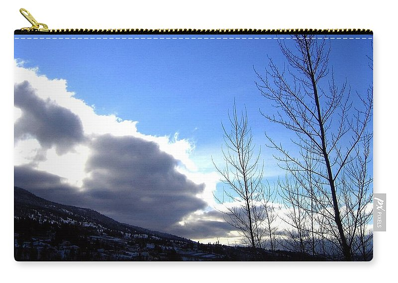 Sunrise Carry-all Pouch featuring the photograph Wood Lake Sunrise by Will Borden