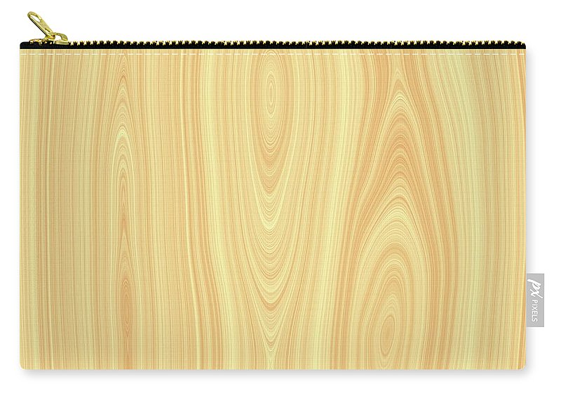 Wood Carry-all Pouch featuring the digital art Wood Texture by Hamik ArtS